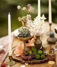 #Bronze Table Decor