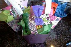 Easy, cute Easter baskets made from cardstock :)