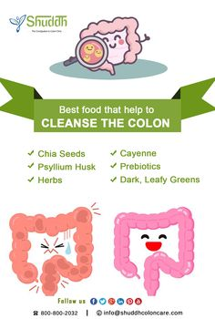 Best #food that help to #cleanse the #Colon #Chia #Seeds #Psyllium #Husk #Herbs #Cayenne #Prebiotics #Dark, #Leafy #Greens From:-#Shuddh #Colon #Care http://www.shuddhcoloncare.com/