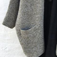 Ravelry: Outside pattern by Lone Kjeldsen Ravelry, Knit Crochet, The Outsiders, Men Sweater, Knitting, Pattern, Jackets, Accessories, Inspiration