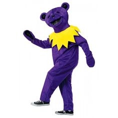 Grateful Dead - Purple Dancing Bear Costume