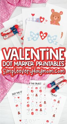 Kids Crafts, Do A Dot, Letter Recognition, Educational Activities, Favor Boxes, Be My Valentine, Fine Motor Skills, Counting, Kindergarten