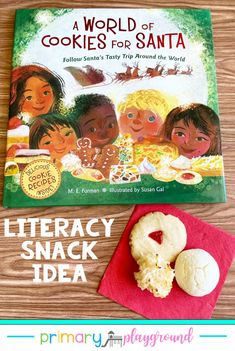 Literacy Snack Idea Christmas Cookies Around The World