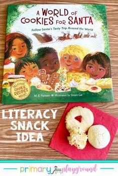Literacy Snack Idea Christmas Cookies Around The World
