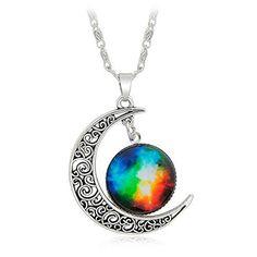 Galaxy & Crescent Cosmic Colorful Pendant Necklace, Blue ... https://www.amazon.com/dp/B073V2P89Z/ref=cm_sw_r_pi_dp_U_x_.0cnAbSWRDBG1