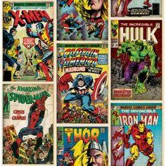 70-238 Tapeta Graham & Brown komiksy Marvel Kids at Home 4