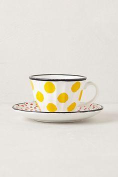 ++ dot pop cup & saucer