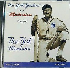 Frank Sinatra New York Yankees CD Rare Stadium Promo Budweiser 2002