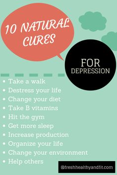 natural depression remedies | 10 Natural Cures for Depression