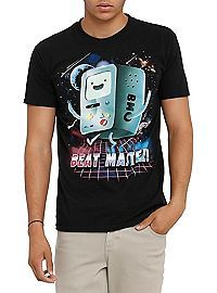 HOTTOPIC.COM - Adventure Time BMO Beat Master T-Shirt