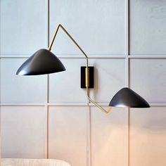 This lamp shades most certainly is an inspiring and excellent idea Cool Lighting, Wall Sconce Lighting, Sconces, Task Lighting, Lighting Design, Wall Reading Lights, Wall Lights, Bedroom Lamps, Bedroom Office