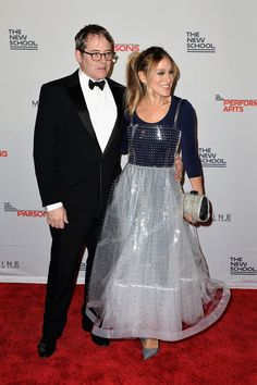 Sarah Jessica Parker Has the Support of Her Husband and a Famous Pal at a Charity Event in NYC