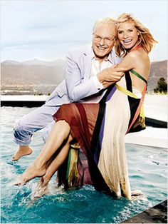 Tim Gunn and Heidi Klum for Entertainment Weekly / Styled by Brian Primeaux