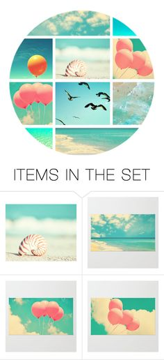 """Surf & Sky"" by beet-1 ❤ liked on Polyvore featuring art"
