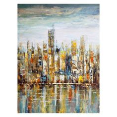 Moes Home Collection Downtown Wall Decor - FX-1099-37