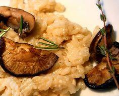 Wild Mushroom Risotto With Black Truffle Oil