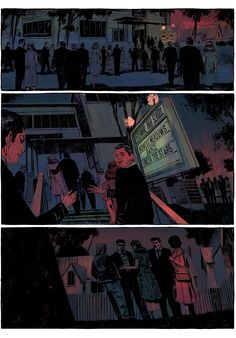 "simon Leclerc | ""Waves"" is a small town mystery set in a retro..."