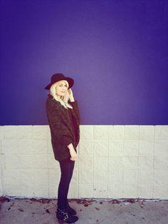 Sweater lovin www.theperfectlittlelife.com #fashion #fallfashion #sweater #blog #blogger #fashionblogger #fashionblog #bighat #style