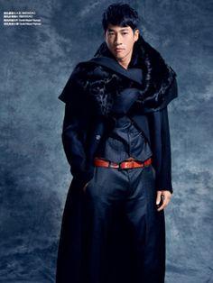 #SIMONGAO AW 2013 COLLECTION #designer #dark #top #fashion #vogue #trend #design #chic avant-garde #brand #black #show #wear #beauty #accesory #gothic #art #culture #cosmos #energy #tech #mystery #spiffy #gradient #oriental #cutting #lines #elegant #fur #coat #man