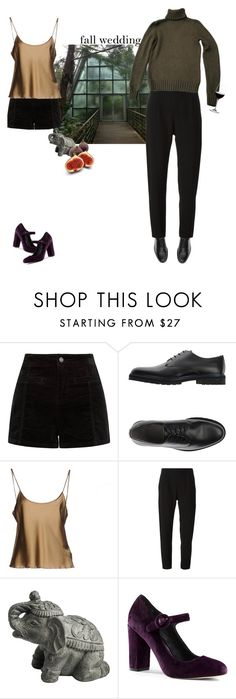 """Без названия #689"" by haomind ❤ liked on Polyvore featuring Armani Collezioni, Ermanno Scervino, Carven, My Spirit Garden, Lands' End, Riedel and fallwedding"