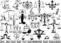 Tatuajes de simbolos horoscopo libra
