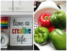 live a creative life sign....love it