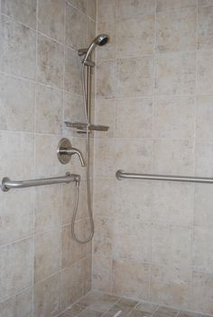 Image result for placement of grab bars in a walk in ...