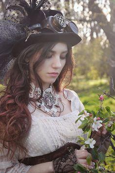 Oh Steampunk   steam-girls:     steampunk springby Allsteam