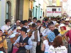 Galería fotos de la romería de San Juan en Arucas 2015, Gran Canaria 35 carrozas participaron ...