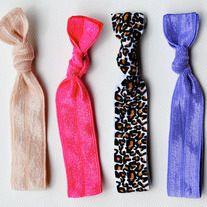 The Andrea Set-4 No-Crease Hair Ties