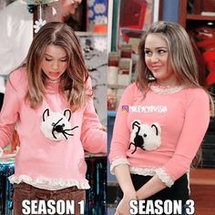 Which episode with the kitty sweater did you like better? #hannahmontana