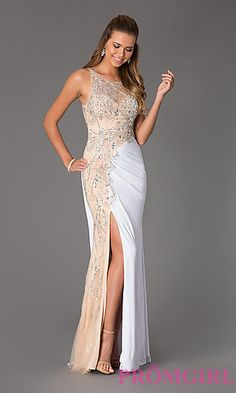 Floor Length Beaded Dress by Jovani Prom Dress at PromGirl.com #promgirl #dress #prom #preview