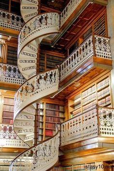 Floransa'da Kütüphane
