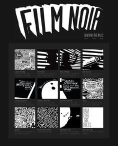 Film Noir Art Collection - Dex | A Graphic Artist in London