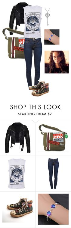 """""""Untitled #101"""" by vic-valdez on Polyvore featuring Frame Denim, Converse, Amanda Rose Collection and Effy Jewelry"""