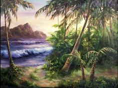 Have you ever tried painting a palm tree but can't seem to get the right lighting or it looks to much like a windmill? Watch Kevin show you, in detail, how to paint this tropical scene with back-lit palm trees. For more information about full length DVDs and brushes, please visit: www.paintwithkevin.com