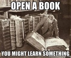 If your New Years' resolution is to learn more this year, check out a book. Reading can help you learn!