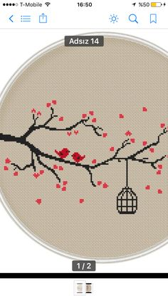 Love bird Сross stitch pattern by MagicCrossStitch on Etsy, You can create really particular designs for fabrics with cross stitch. Cross stitch models can nearly amaze you. Cross stitch novices may make the models they need without difficulty. Cross Stitch Fabric, Cross Stitch Bird, Counted Cross Stitch Patterns, Cross Stitch Designs, Cross Stitching, Cross Stitch Embroidery, Embroidery Patterns, Hand Embroidery, Canvas Template