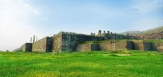 Ruins of the Palace of Artaxerxes I, Persepolis.