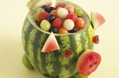 sjove ideer med frugt