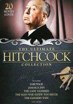 hitchcock box set -18 films & 2 TV shows