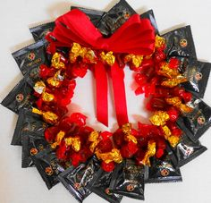 Now this is a fun idea! If you make wreaths, make a healthful gift for someone!   We can also make these wreaths! Starting at $50