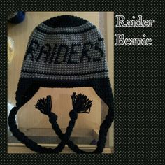 Adult raider - football beanie