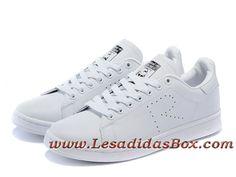 lowest price a04b1 e26c5 Adidas Originals Homme Femme Chaussures stan smith Blanc G34068 Officiel  prix
