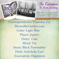 Thursday Correspondences P3 Thursday is the day of Jupiter, the largest of the planets and said to be the most powerful. Spellcasters would be wise to use this day for attempting wealth, success and prosperity spells.  Thursday is also associated (in Greek mythology) to Thor – Thor's day – and some even say that Jupiter and Thor are one in the same. Both are strong and powerful, yet wise and just.