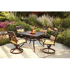 Better Homes and Gardens Sonoma Falls 5-Piece Patio Dining Set, Seats 4