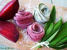 Tagliatelle cu leurda și sfecla rosie - imagine 1 mare
