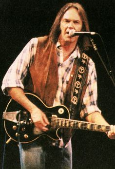 "Neil at ""Bobfest"": Bob Dylan's 30th Anniversary Concert Celebration in 1992"