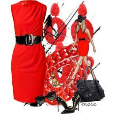Elegant in Red