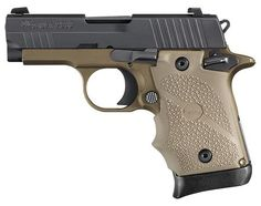 "Red Circle Tactical | Sig Sauer P938 Combat FDE 9MM 3"" Barrel Alloy Frame Flat Dark Earth Rubber Grips SIGLITE Night Sights 7Rd Magazine Ambidextrous Safety"